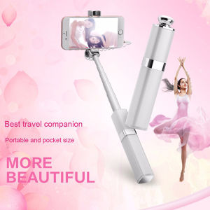 2016 New Lipstick Mini Wired Selfie Stick for Girls pictures & photos
