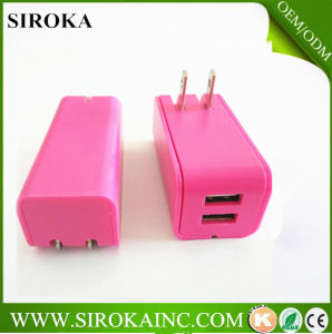 Universal 12 V Travel Charger Micro USB Wall Charger 2 USB Ports for Android Tablet Wall Adapter Charger pictures & photos