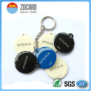Customized Colerful NFC RFID Keyfob pictures & photos