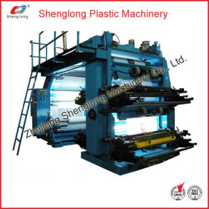 Film Plastic Flexographic Printing Machine/ Flexo Printer (WS884-1000ZS) pictures & photos