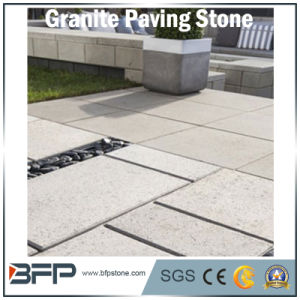 Natural Yellow/Beige Granite Paving Stone and Cobblestone for Garage, Driveway, Car Parking Area pictures & photos
