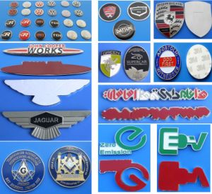Car Badge Metal Car Emblem Pin Custom Logo Badge pictures & photos