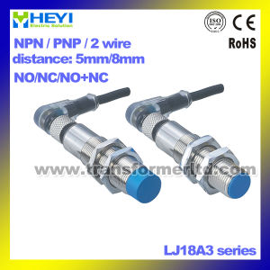 Air Plug Inductive Proximity Sensor Switch 8/12/18/30mm Metal Sensor with Cable pictures & photos