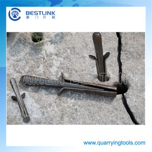 Various Size Quarrying Stone Splitting Wedges and Feathers pictures & photos