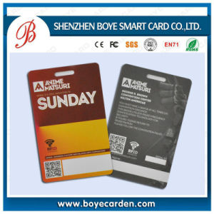 Ultralight Cr80 13.56MHz RFID Key Card for Hotel System pictures & photos