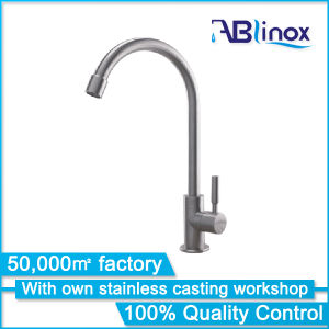 High Quality Stainless Steel Kitchen Tap/Mixer/Faucet (AB112) pictures & photos
