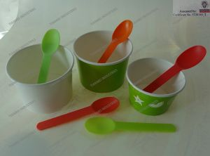 Yogurt Spoon for Ice Cream pictures & photos