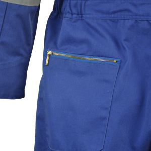 Mens Cotton Drill Fire Retardant Coveralls Miner Workwear in Oil/Gas Field pictures & photos