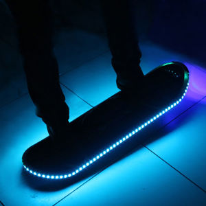 One Wheel Electric Hoverboard with LED pictures & photos