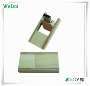 New Wooden USB Flash Drive with Customzed Logo (WY-W12) pictures & photos