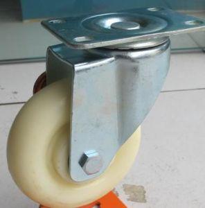 Medium Duty White Nylon Caster Wheel Spinning (wearproof) pictures & photos