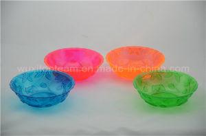 Crystal Cut Round Plastic Bowl (6′′x1.75′′)
