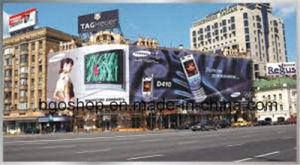 PVC Banner Flex Printing Billboard Canvas (300dx500d 18X12 400g--650G) pictures & photos