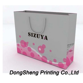 Top End of Paper Gift Shopping Bag for Clothing pictures & photos