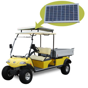 Electric Vehicle Cargo Truck with Solar Panel Del3022gh pictures & photos