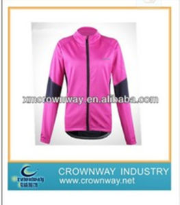 Womens Pink Casual Cycling Jersey with High Quality (CW-S-CJ41) pictures & photos