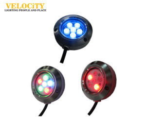 12V/24V High Brightness Stainless Steel IP68 RGB LED Lighting for Boat pictures & photos