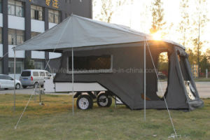 Rear Folding Camping Trailer Gc-M01 with Tent