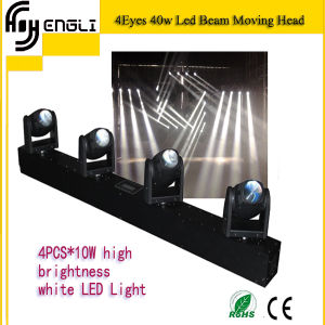 4PCS*10W LED Beam Moving Head Light for Stage (HL-018BM) pictures & photos