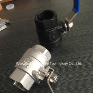 Wcb 2PC Ball Valve with NPT/Bsp/Bsp Thread pictures & photos