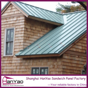 High Quality Snaplock Standing Seam Floor Tile Metal Roof pictures & photos