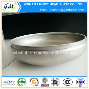 Aluminum Dished Ellipsoidal Head End Cap for Pipe Fittings pictures & photos