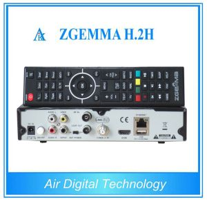 Satellite Finder Digital TV Receiver HD DVB S2 DVB T2 with Dual Core CPU Zgemma H. 2h pictures & photos