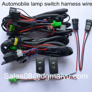 wire harness dongguan maiyu electronics co page  12v 40a work led hid work fog light bar wiring harness kit on off switch