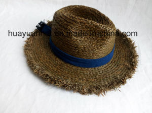 100% Raffia Straw Leisure Style Safari Hats pictures & photos