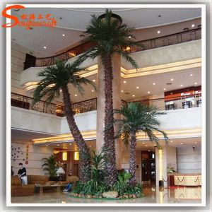 Customized Indoor Landscape Fake Artificial Palm Tree pictures & photos
