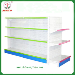 Double Sided Gondola Supermarket Shelf (JT-A25) pictures & photos