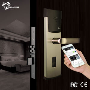 Metal Electronic Hotel NFC Door Lock pictures & photos