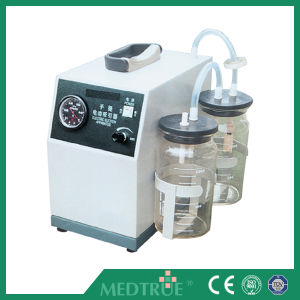 Hot Sale Medical Electric Mobile Suction Unit Device (MT05001019) pictures & photos
