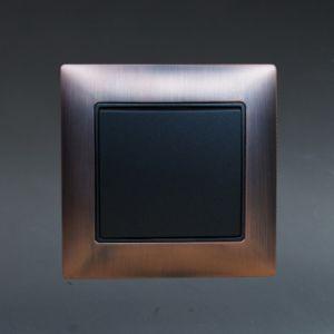 TUV Certified EU Standard Metal Zinc TV Socket Manufacturer pictures & photos