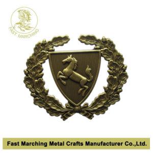 Lapel Pin, Horse on 3D Badge