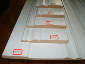 Good Quality MDF Pre-Primed and Painted Skirting Board pictures & photos