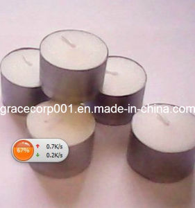 50PC White Tealight in Poly Bag, 23G pictures & photos