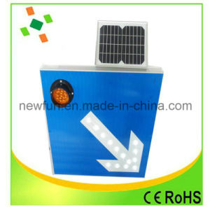 Aluminum LED Solar Traffic Sign Accept Customized pictures & photos