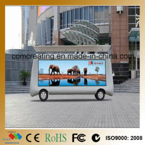 Truck Video Advertising P8 SMD Outdoor LED Moving Display Sign