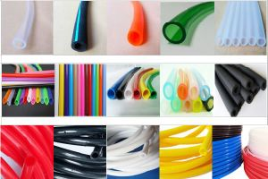 "High Quality 1/4"" 3/8"" No Smell Non-Toxic Plastic PVC Clear Vinyl Tubing, Transparent Air Conditioning PVC Hose pictures & photos"