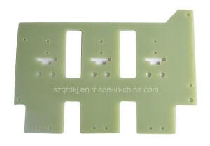 Fr-4 Glass Epoxy Sheet Plastic Insulator CNC Machining OEM (QRD-050)