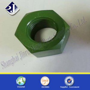 ISO4033 Heavy PTFE Finished Hexagonal Nut pictures & photos