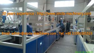 WPC Profile Production Line Machinery pictures & photos