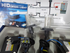 H4 35W 6000k Xenon Lamp Car Accessory with Blue and Black Wire pictures & photos