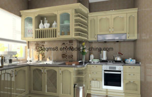 Modular MDF with PVC Kitchen Cabinetry pictures & photos