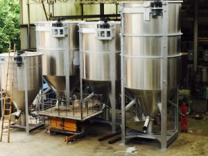 High Effecient Powder and Extruder Mixer pictures & photos