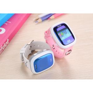 Waterproof Sos GPS Triple Positioning Wristband Smart Watch for Kids