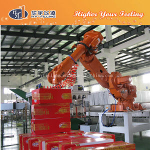 Zhangjiagang Glass Bottle Robot Palletizer pictures & photos