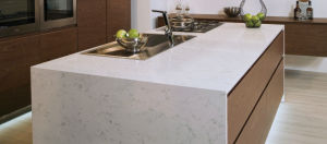 White Quartz Kitchen Countertop Scratched Without Spending pictures & photos