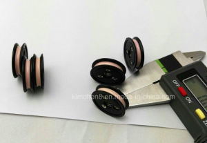 Wire Guide Pulley/Plastic Flange Groove Nylon Cable Ceramic Wire Guide Roller /Wire Wheel pictures & photos